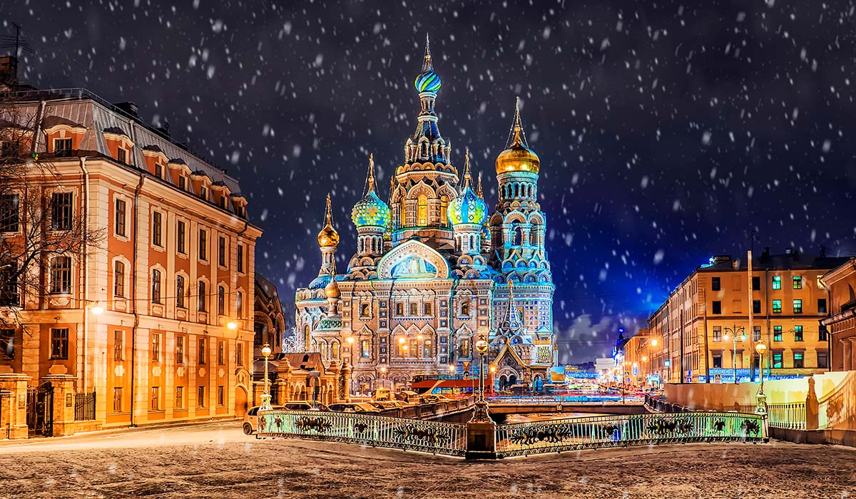 DAY 10 - St. Petersburg Sightseeing Day