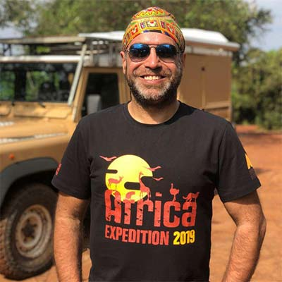 Dilpreet Singh Bindra, AFRICA EXPEDITION 2019