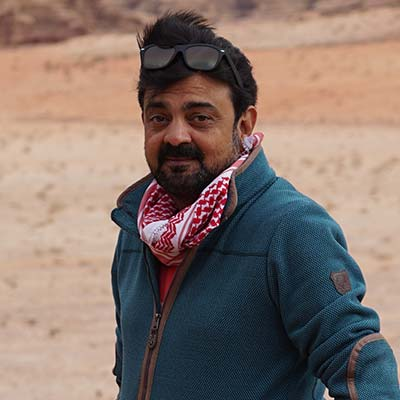 Nainesh Nandu, JORDAN EXPEDITION 2018