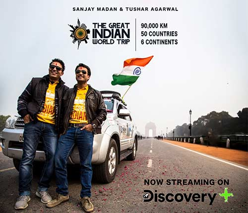 Sanjay & Tushar - The Great Indian World trip