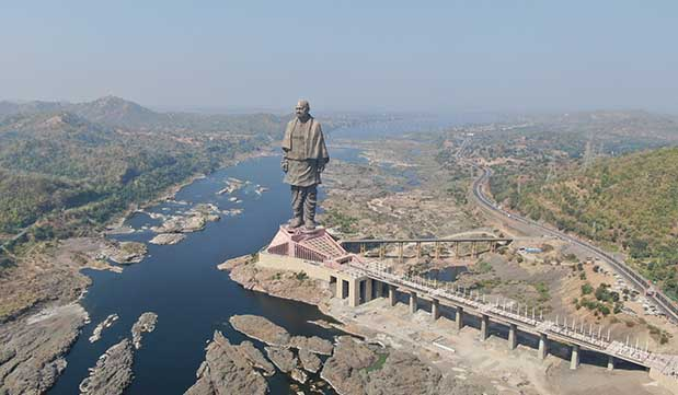 Day 02 - Ahmedabad - Statue Of Unity (225 KM / 5 hours)