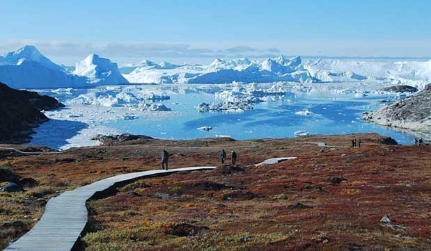 Day 10 - Guided walk at Ilulissat Icefjord and Sermermiut
