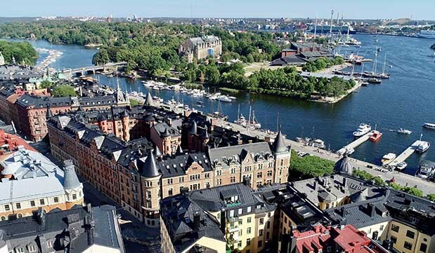 Day 01 - Welcome to Sweden