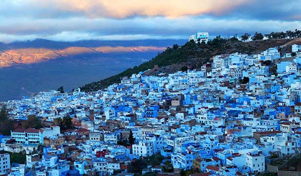"""Day 08 - Drive to the """"Blue City"""" of Chefchaouen"""