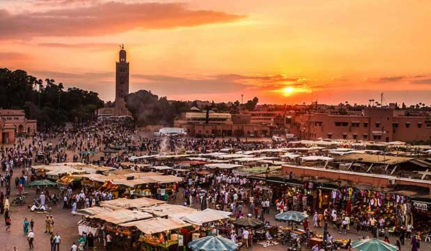 Day 02 - Marrakech - City Tour and Hammam experience