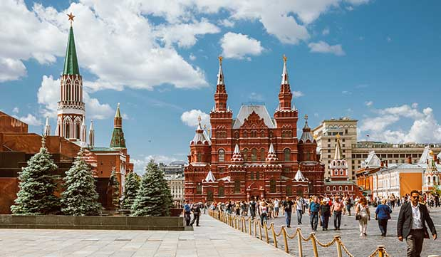 Day 01 - Moscow