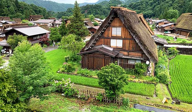 Day 11 - Thatched Roof Farmhouse Stay in Shirakawa-go