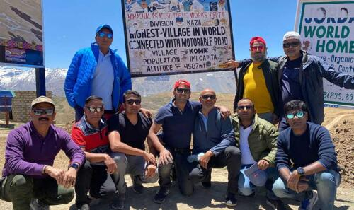 The Indore Gang on top of the world!