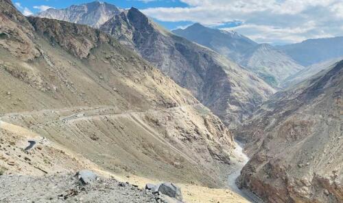 The world's most trecherous road from en route Tabo