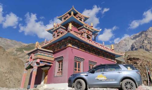 Car Number 2 at the Giu Monastery
