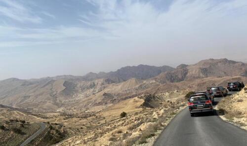 En route Dead Sea
