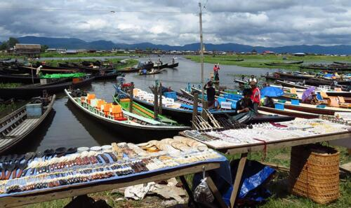 Local Market, Inle Lake