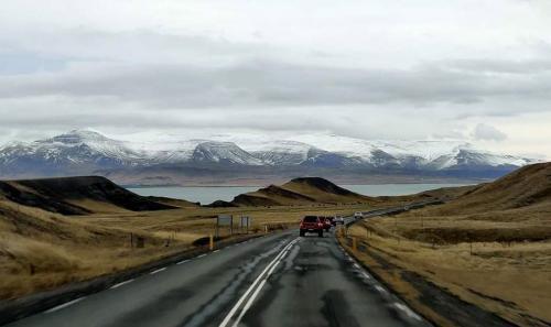 En route Landmannalaugar
