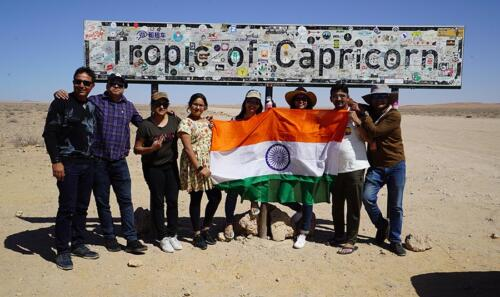 Tropic of Capricorn, South Africa
