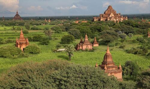 Pagodas, Bagan