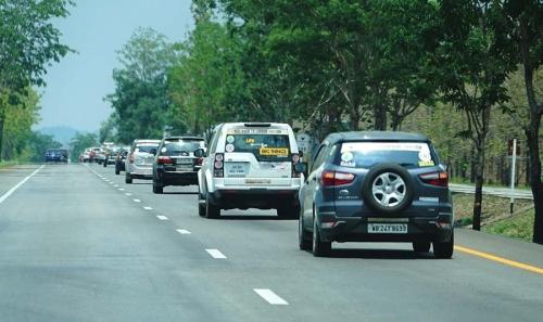 En route Chiang Khong